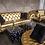 gold sofas