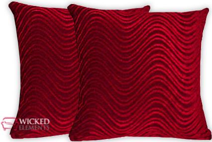 Red Pillow Set