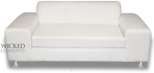 White Loveseat