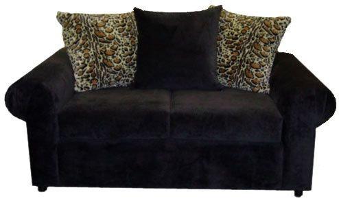 Pillow Back Custom Loveseat