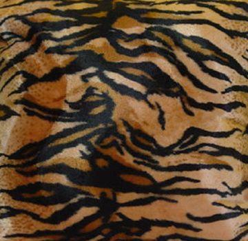 Wild Tiger Animal Print Fabric