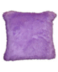 Lilac Faux Fur Pillow