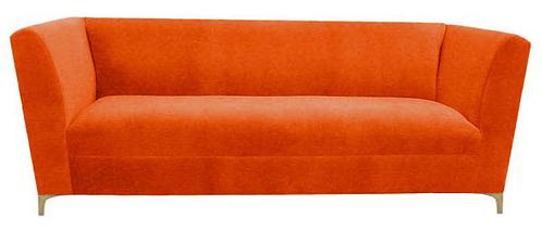 Orange Lounge Sofa