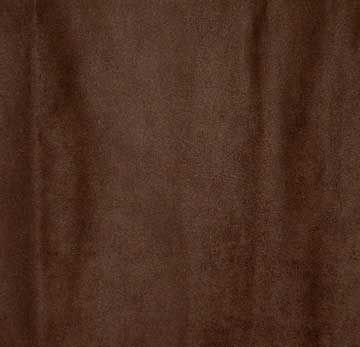 Fabric, Microfiber Suede, Chocolate Brown, By The Yard