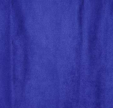 Fabric, Microfiber Suede, Sea Blue, By The Yard