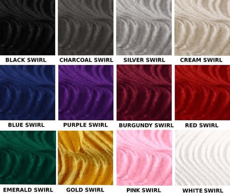 Swirl Fabric Selection
