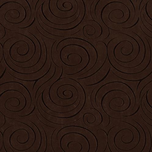 chocolate swirl fabric