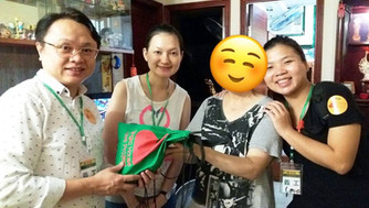 「LOVE Project」愛心月餅行動 青衣區探訪