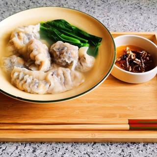SW006 甜粟米木耳新豬肉餃(天然手工餃)(全素)(10隻裝)(未煮) $28