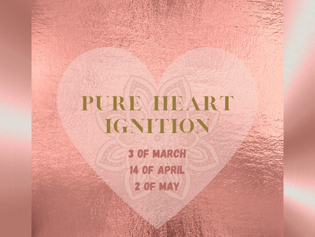 2021 Spring Live Online Pure Heart Ignition - guided meditation