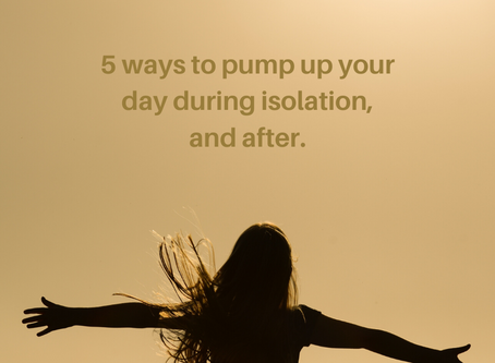 5 ways to pump up our day