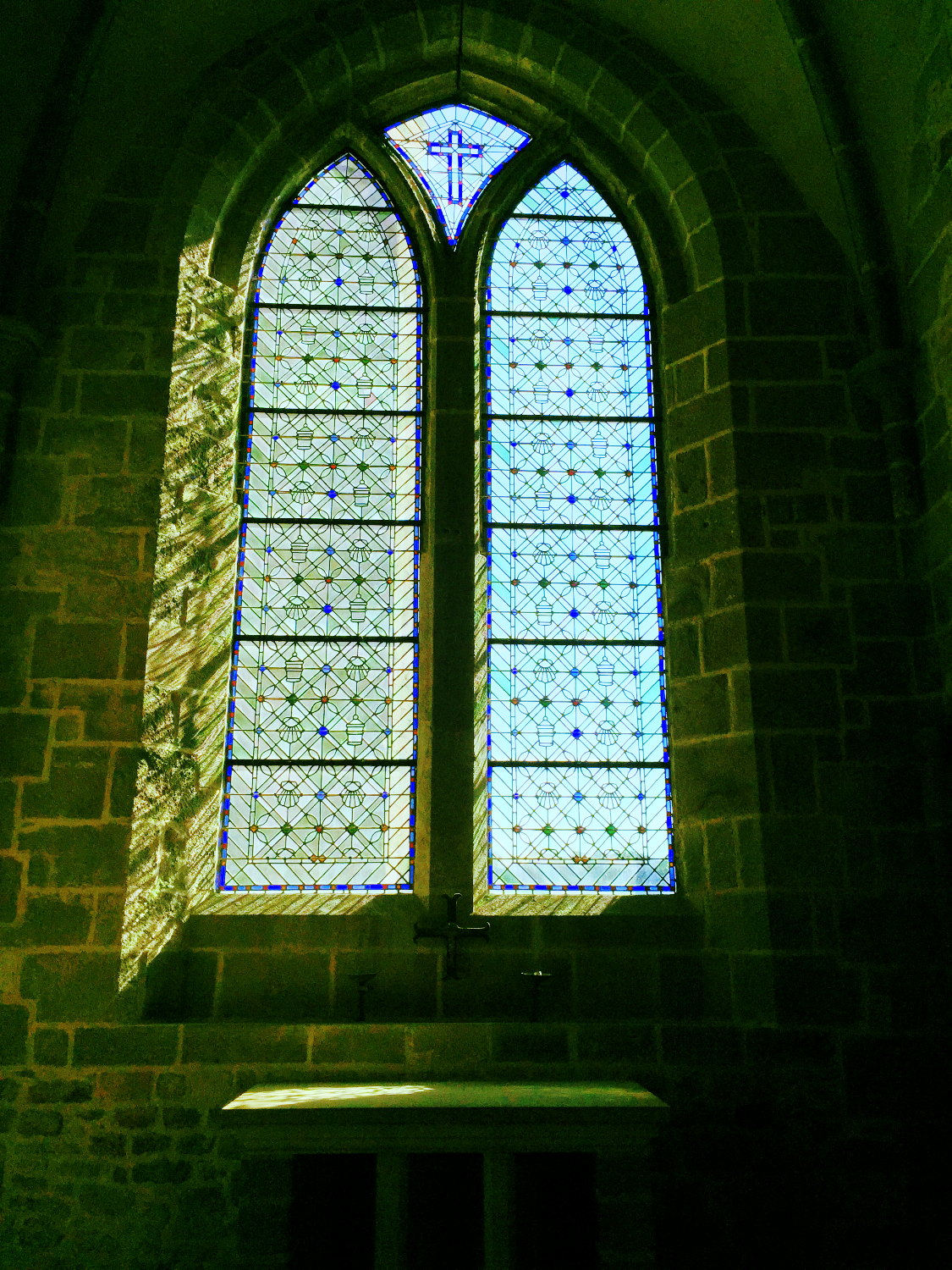 Peaceful window in the Abbey