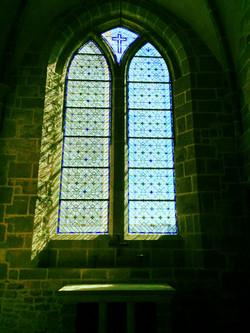 Peaceful window in the Abbey