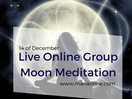 New Moon Solar Eclipse live meditation