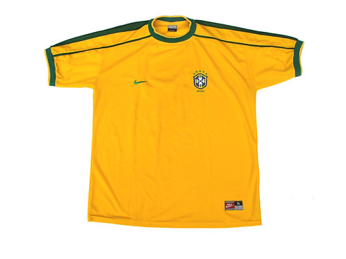 Brazil Nike Home Shirt 1998/00 - XL