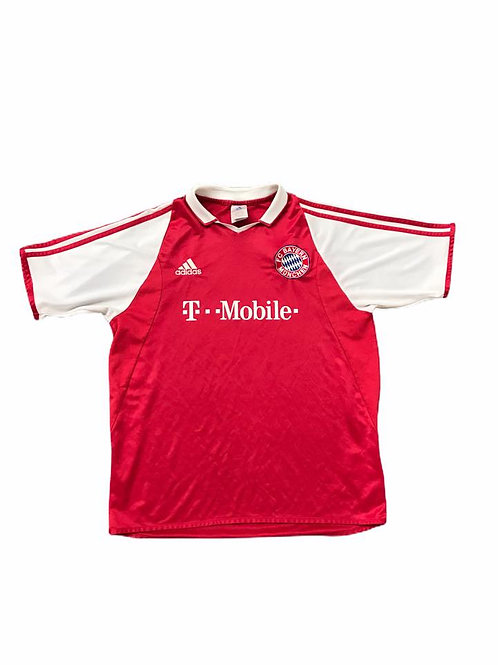 Vintage Bayern Munich Adidas 2003/04 Home Shirt - S