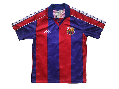 Barcelona Kappa Full Home Kit 1992-95 - Kids