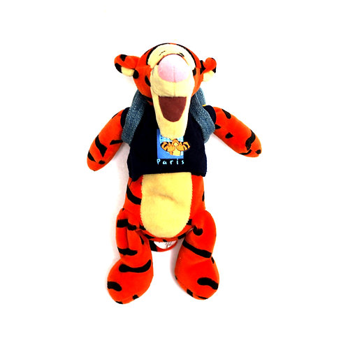 "Disney 'Paris Tigger' 8"" Bean Bag Soft Toy"