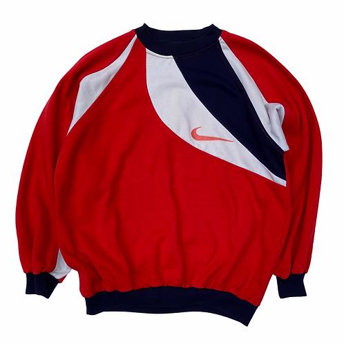 90s Bootleg Nike 'Swoosh' Sweatshirt - S