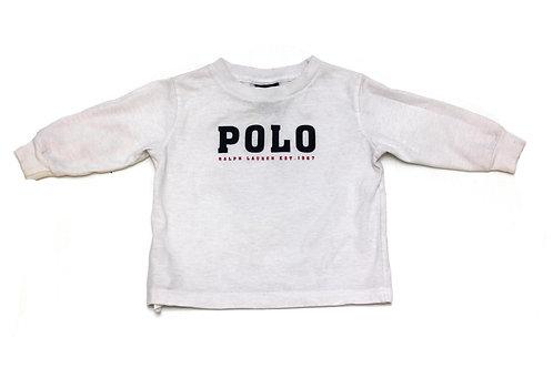 Ralph Lauren 'Polo' L/S T-Shirt - Kids - 12 Months