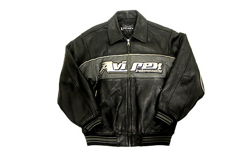 Avirex 'Nitro Run' Leather Jacket - M