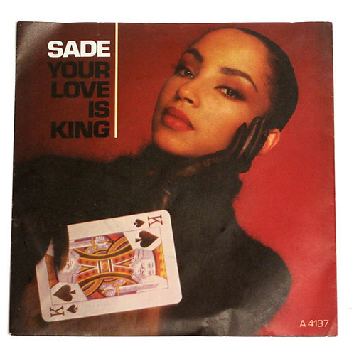 "Sade 'Your Love Is King' 7"" Vinyl Single 1984"