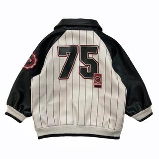 Avirex '75' Leather Jacket - Fits Child