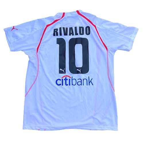 Olypiacos FC Puma 2005/06 'Rivaldo 10' Away Shirt - XXL