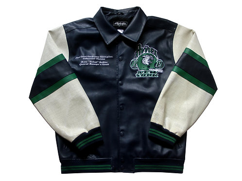 Avirex 'New York Wild Cats' Leather Jacket - S
