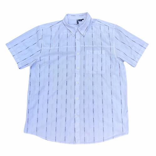 Vintage Oakley Repeat Print S/S Shirt - XXL