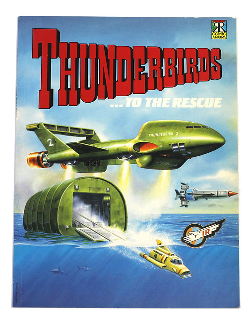 'Thunderbirds... To The Rescue' Book 1992