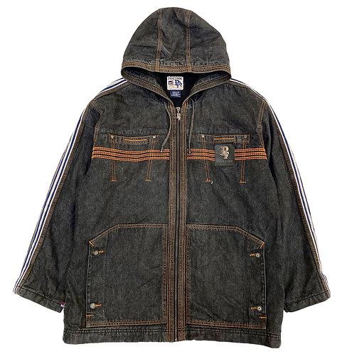 Early 2000s Phat Farm 'Contrast Stitch' Denim Jacket - XL