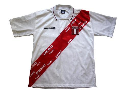 Peru Umbro Home Shirt 1997-98 - L