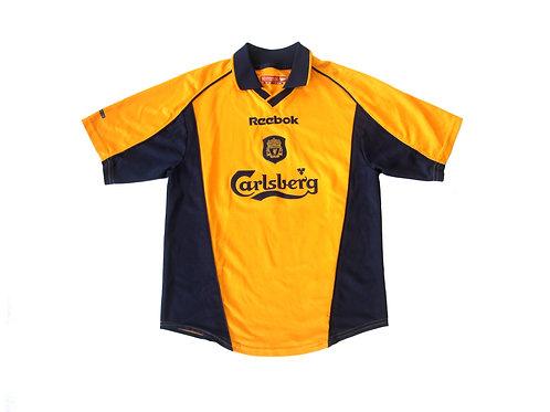 Liverpool Reebok Away Shirt 2000/01 - Kids