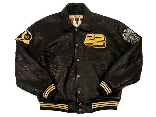 Avirex 'Houston Full Court Rockets' Leather Jacket - M