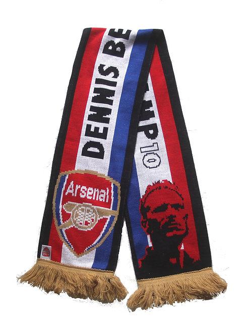 Arsenal 'Dennis Bergkamp' Scarf - OSFA