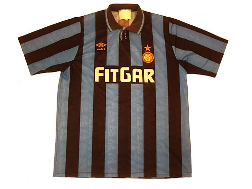 Inter Milan Umbro Home Shirt 1990/91 - XL