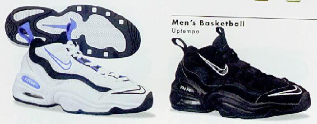 Nike 'Air Pure Uptempo' UK 7 \u0026 10 1997