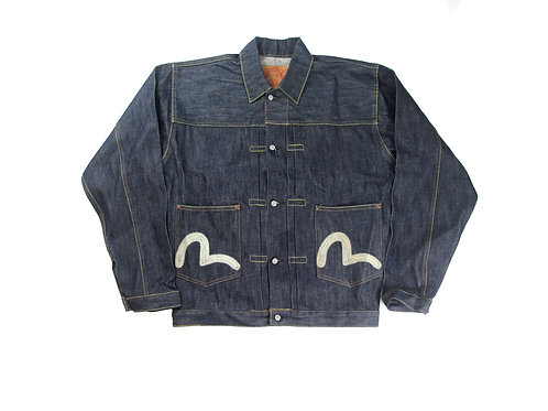 Evisu Denim 'Cinched Cut' Jacket - M