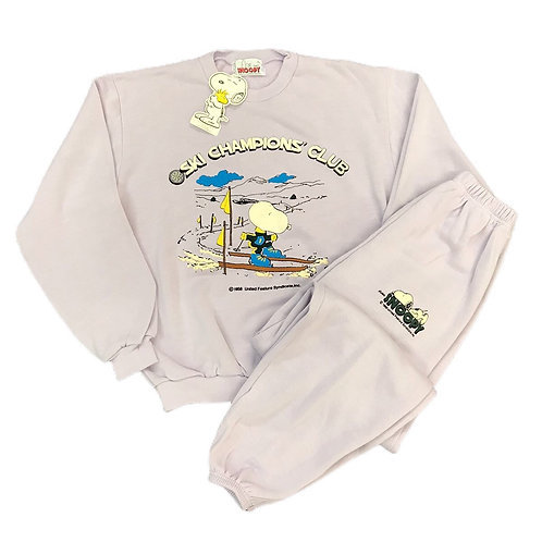 Vintage Deadstock 1980s Snoopy Full Tracksuit - M