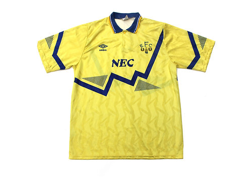 Evertone Umbro Away Shirt 1990/92 - L