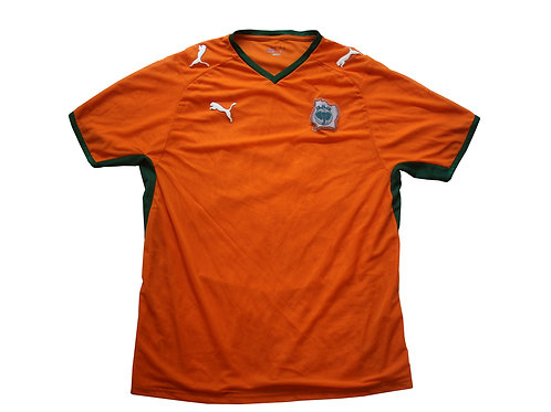 Ivory Coast Puma Home Shirt 2007-08 - M