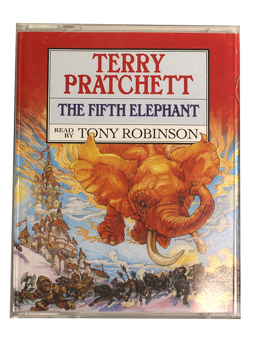 Terry Pratchett 'The Fifth Elephant' Cassette Audio Book 1999