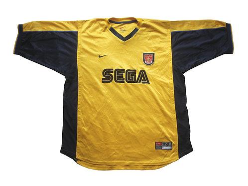 Arsenal Nike Away Shirt 1999/01 - XXL