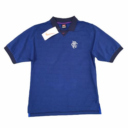 Vintage Deadstock Rangers FC Nike 90s Polo Shirt - S
