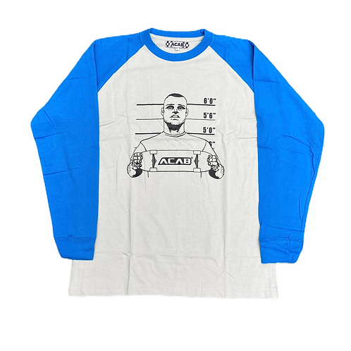 Deadstock ACAB 'Skateboarding Is Not A Crime' L/S T-Shirt - L