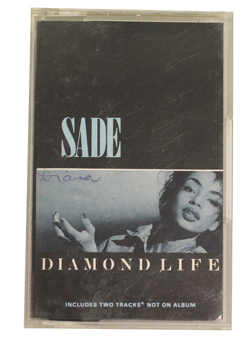 Sade 'Diamond Life' Cassette Album 1984