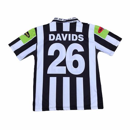 Bootleg Juventus FC 'Davids 26' 2000/01 Home Shirt Size Small