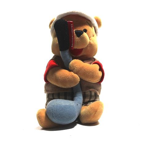 "Disney 'Golf Pooh' 8"" Bean Bag Soft Toy"