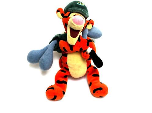 "Disney 'Golf Tigger' 9"" Bean Bag Soft Toy"